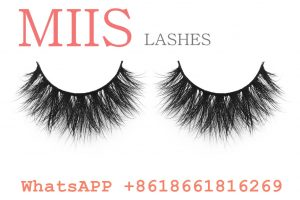 100% real mink fur lashes