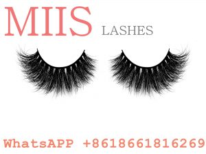 3D mink eyelashes extensions